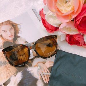 Cole Haan Polarized 59mm Oversized Sunglasses